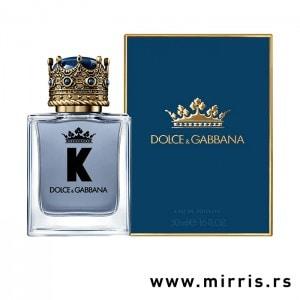 Boca parfema Dolce & Gabbana K i kutija plave boje
