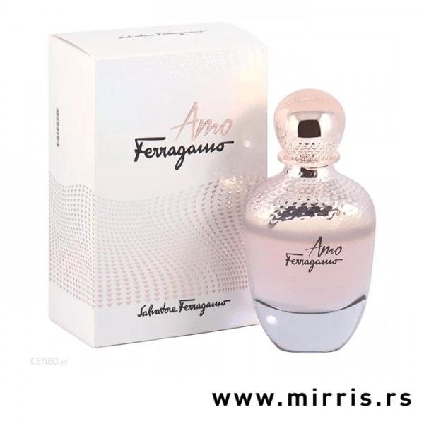 Boca parfema Salvatore Ferragamo Amo pored originalne kutije