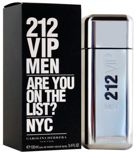 Najbolji muški parfemi: Carolina Herrera 212 VIP Men