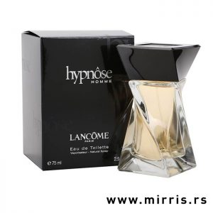 Parfem Lancome Hypnose Homme pored crne kutije