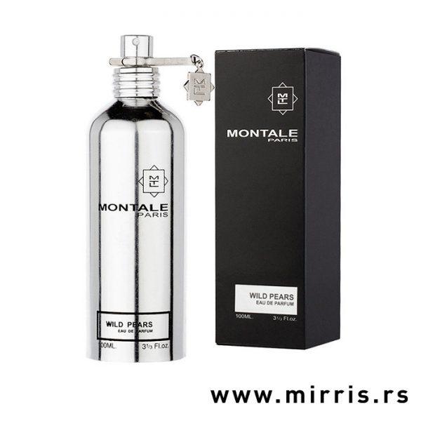 Boca parfema Montale Wild Pears pored crne kutije