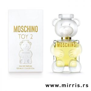 Originalni parfem Moschino Toy 2 pored kutije