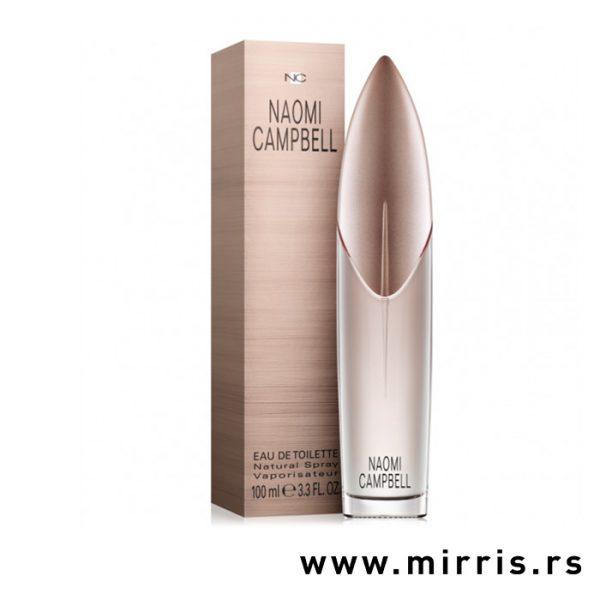 Boca parfema Naomi Campbell pored originalne kutije