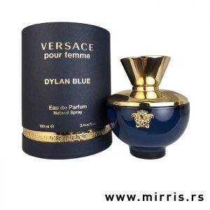 Parfem Versace Dylan Blue Pour Femme pored plave kutije