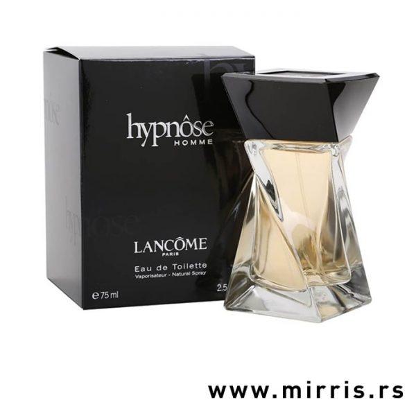 Crna kutija pored originalnog parfema Lancome Hypnose For Men