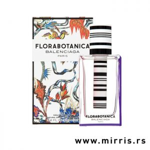 Bočica parfema Balenciaga Florabotanica pored kutije