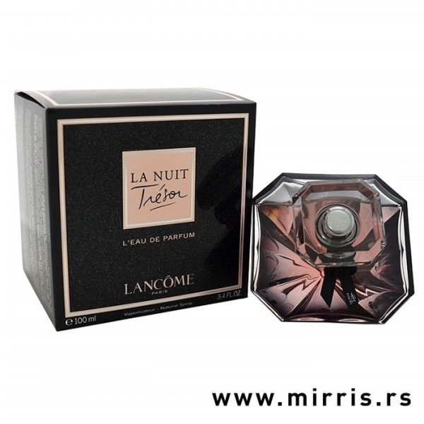 Kutija i bočica ženskog parfema Lancome La Nuit Tresor