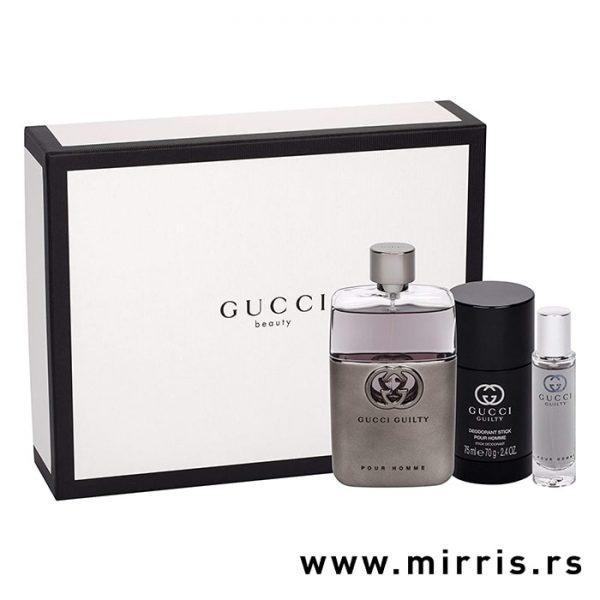 Set Gucci Guilty Pour Homme