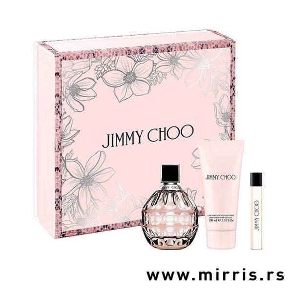 Parfem Jimmy Choo i losion za telo u setu