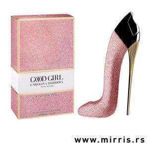 Boca parfema Carolina Herrera Good Girl Fantastic Pink i kutija roze boje