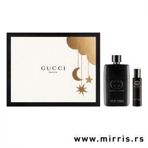 Dve bočice parfema Gucci Guilty Pour Homme i kutija