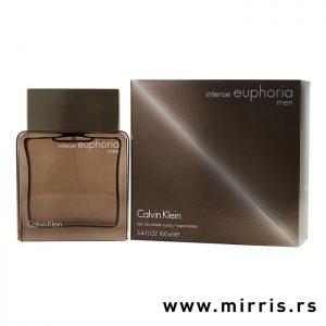 Boca parfema Calvin Klein Euphoria Men Intense pored originalne kutije