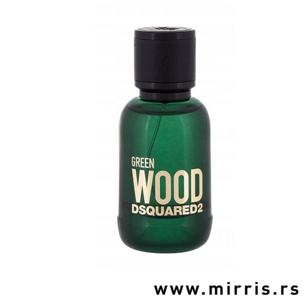 Zelena boca parfema DSQUARED² Green Wood