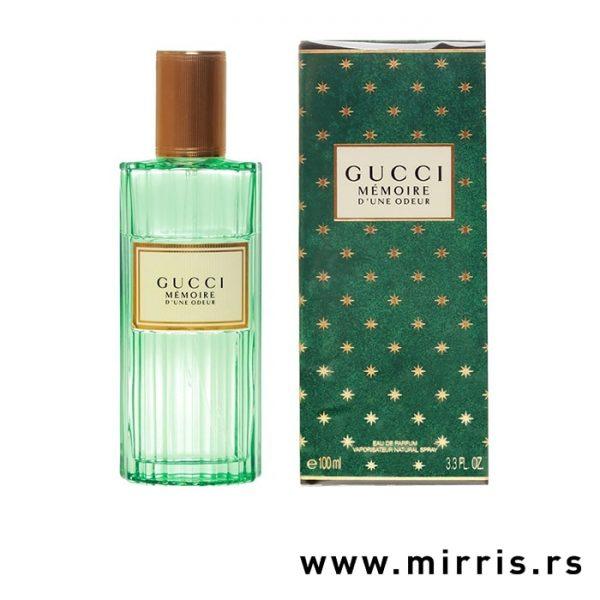 Boca parfema Gucci Memoire D'une Odeur pored originalne kutije