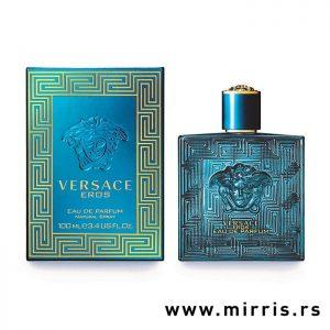 Bočica parfema Versace Eros Eau de Parfum i originalna kutija