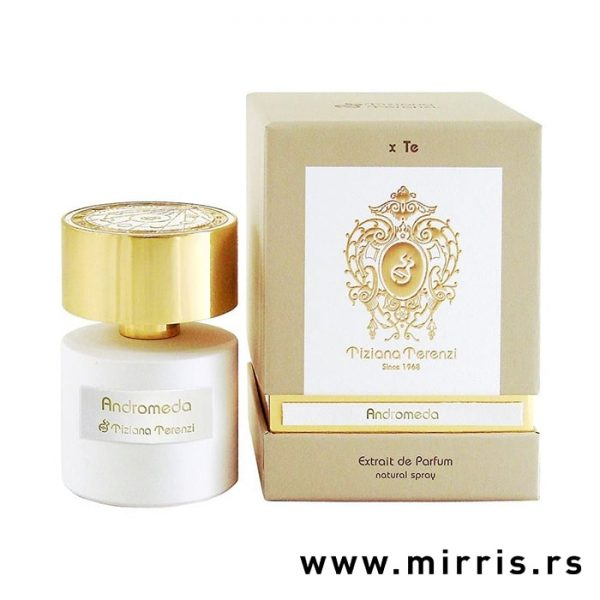 Bočica parfema Tiziana Terenzi Andromeda i kutija