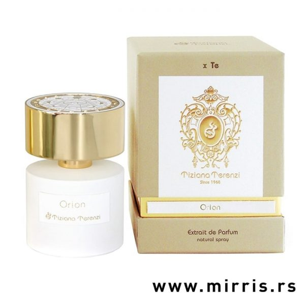 Bočica originalnog parfema Tiziana Terenzi Orion i kutija